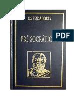 Resumo Pré Socraticos