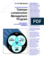 Tishman Construction Management Program, University of Michigan.