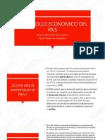 Trabajo Del Desarrollo Economico Del Pais-maite Peña