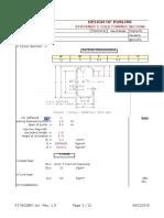 Design of C 120x60x20x2.5 Purlins