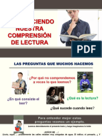 FORTALECIENDO LA COMPRENSION LECTORA