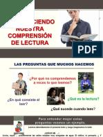 FORTALECIENDO LA COMPRENSION LECTORA