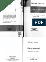 Foucault - Qué es un autor - Traducción Mattoni con apostillas Link.pdf