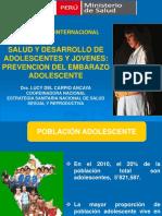 SALUD Y DESARROLLO DE ADOLESCENTES Y JÓVENES