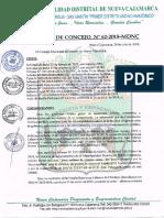 Acuerdo Concejo 062 2018