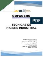Tecnicas de Higiene Industrial