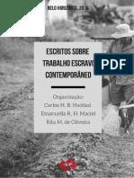 Escritos sobre trabalho escravo contemporâneo - UFMG.pdf