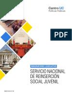 Observatorio Legislativo, Reinsercion Social Juvenil