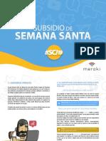 Subsidio Semana Santa SCI