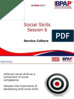 SMPSVCCU006 Social Skills