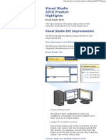 Visual Studio 2010 Product ..