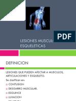 Clase 4 Lesiones Musculo Esqueleticas