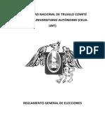 REGLAMENTO GENERAL DE ELECCIONES 2019 UNT.pdf