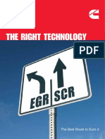 The Right Technology EGR vs SCR