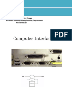 Lectures 1-4 Interface (Technology) New