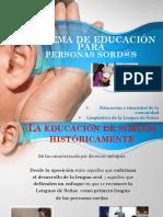 Clase 3 Sistema Educativo Para Sordos - Cfin2018 -PORTAL [Autoguardado]