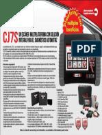 Etiqueta Caja CJ7S