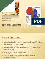 Tema Neocolonialismo