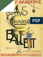 Ballet Triádico Bauhaus