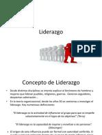 Liderazgo - PPT