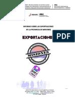 IPEC Misiones Exportaciones de Misiones 2017