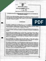 Resolucion 5281 Del 3 de Nov 2011 Delegacion Funciones Sec Gral Mintrabajo