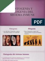 Ontogenia y Filogenia Del Sistema Inmune