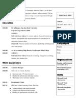Resume - Iqbal Saini PDF