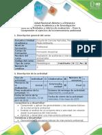 Guía de Actividades y Rúbrica de Evaluación - Paso 6 - Comprender El Ejercicio de La Interventoría Ambiental