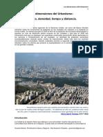 Las Dimensiones Del Urbanismo - LCV  mayo 2013
