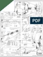 1-2A Foam Learjet Plan 760N
