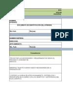 Formato Bitacora Tgn Comercio Internacional
