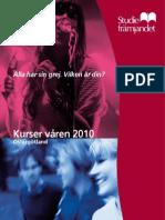 Kurskatalog våren 2010, digital