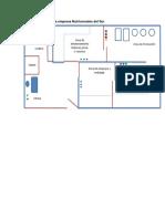 Distribución de Planta Empresa Nutricereales Del Sur Grupo Doña Alba