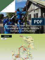 Community Driven Initiative on Renewable Energy