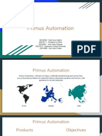 Syndicate 2 Primus Automation
