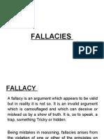 Fallacies Unit 3