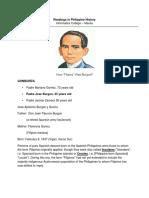 Biodata sheet