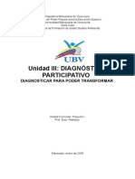 Unidad III Diagnostico Participativo