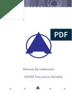 Manual de Instalación A6300 V3FL V9