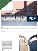 CRÈME Indigo Chair Cut Sheet