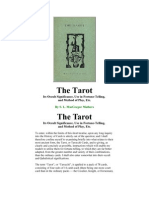 A Brief Description of Tarot reading