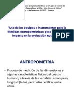 2 Uso de Equipos Antropometricos