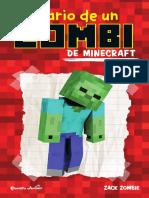 Diario de Un Zombiede Minecraft
