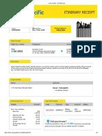 Ticket DVO-DGT (Nov 2 )