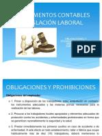 Legislacion Laboral-obligaciones y Prohibiciones