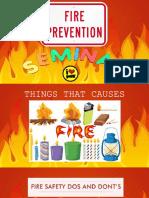 fire prevention seminar