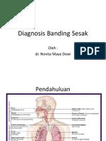 Diagnosis Banding Sesak