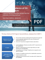 2016 Open Group - Unlocking Patterns of EA Program Failure - V1.0