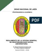 REGLAMENTO  DE RESPONSABILIDAD SOCIAL UNIVERSITARIA 2016.docx
